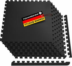 Exercise Floor Mat Fitness Puzzle Rug Gym Workout Equipment