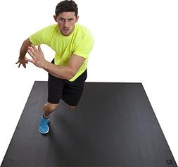 Square36 Large Exercise Mat 6 Ft x 6 Ft . This CARDIO Mat is