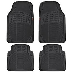 Motor Trend FlexTough Heavy Duty Car Floor Mats - 4 PC 100%