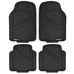 Motor Trend FlexTough Standard - 4pc Heavy Duty Rubber Floor