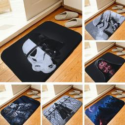 Floor Mat Star Wars Printed Rug Toilet Carpet Flannel Non Sl