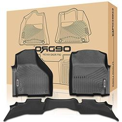 oEdRo Floor mats Liners Compatible for 2013-2018 Dodge Ram 1