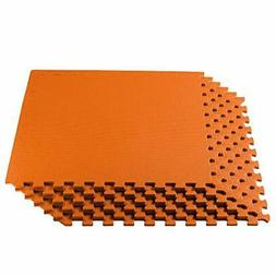 We Sell Mats Multi Color 48 Sq Ft  Foam Interlocking Anti-Fa