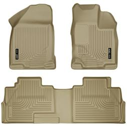 front and 2nd seat floor liners fits