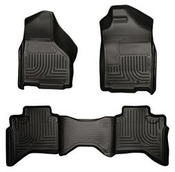 Husky Liners Front & 2nd Seat Floor Liners Fits 02-08 Ram 15