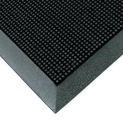 "Home Office Rubber 5/8"" thickness Black Rubberized Entry Ind"