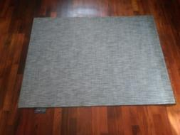 Chilewich Ikat Fawn Large  Vinyl Floor Mat Rectangle