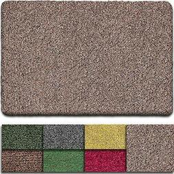 "Indoor Doormat Super Absorbs Mud Mat 36""x 24"" Latex Backing"