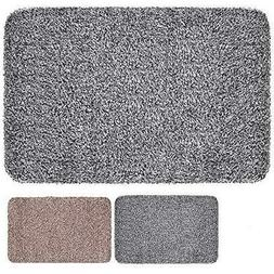 Indoor Doormat Super Absorbs Mud Latex Backing Non Slip Door