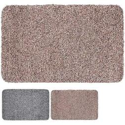 Indoor Super Absorbs Mud Doormat Latex Backing Non Slip Door