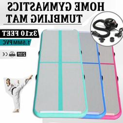 Inflatable Gym Mat Air Tumbling Track Floor Gymnastics Cheer