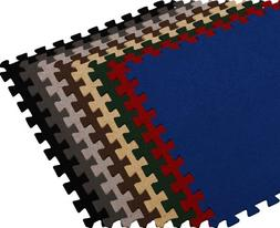 We Sell Mats 24 x 3/8 Interlocking Carpet-Top EVA Foam Floor
