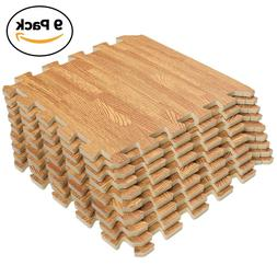 Interlocking Puzzle Wood Mat
