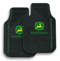 New John Deere  Front Floor Mats Truck Car Carpet Floorboard