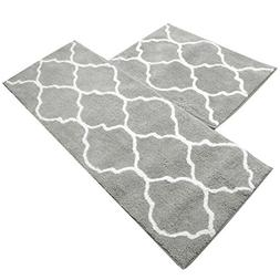 U'Artlines Kitchen Mat, Decorative Non-Slip Microfiber Doorm