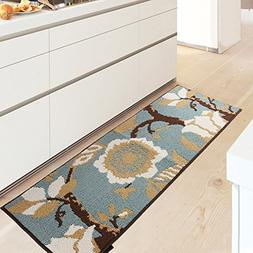 MustHome Kitchen Rug Non Slip Rubber Backing Kithcen Floor M