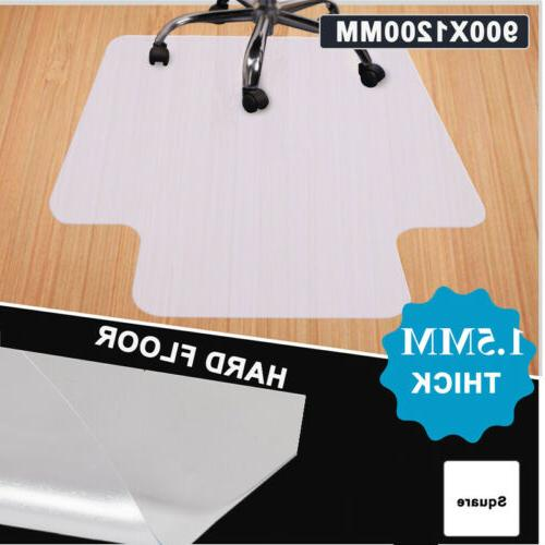 1.5MM Office PVC Mat Clear Floor Protector Hard Floors