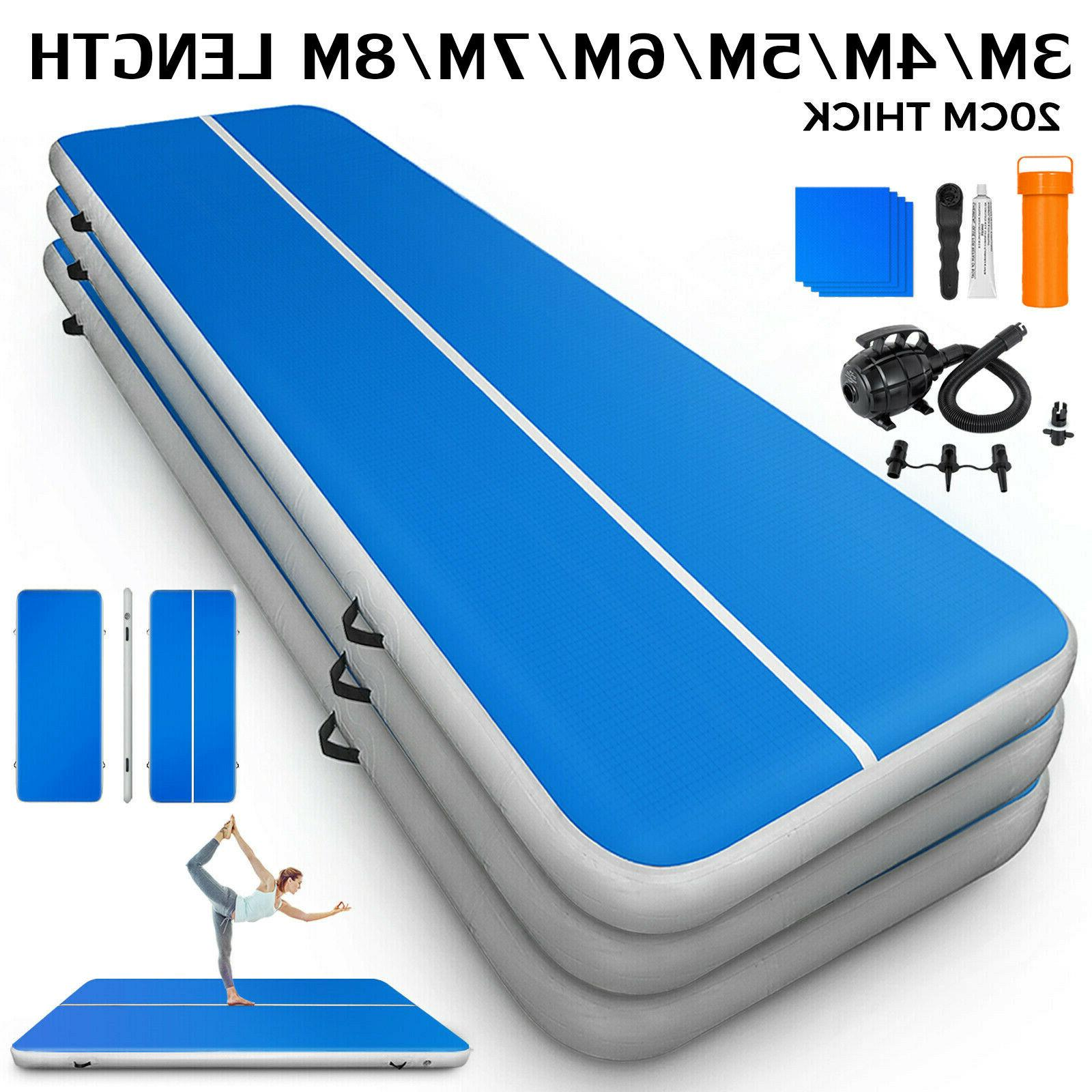 10 26ft air track inflatable floor mat