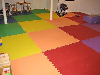 24 Sq EVA Foam Interlocking Gym Flooring GETRUNG