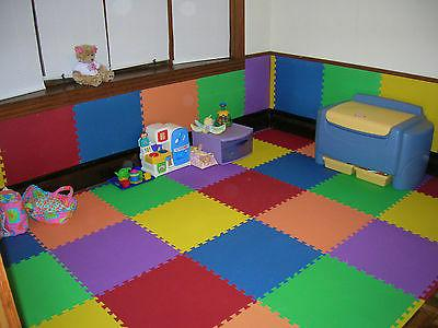 24 Sq Ft EVA Interlocking Flooring GETRUNG