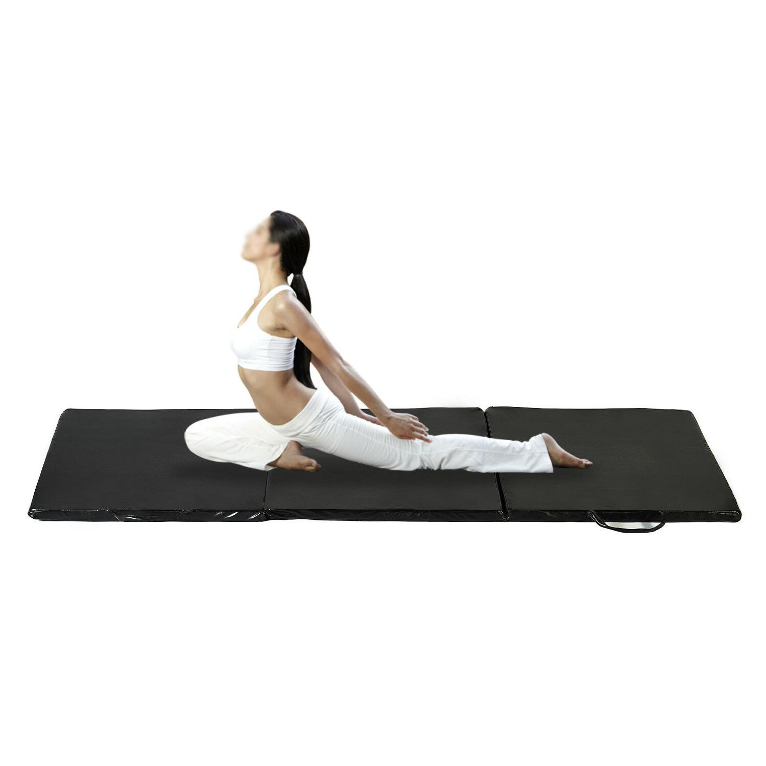 "2'x6'x1.2"" Folding Sports Fitness Mat Tumbling"