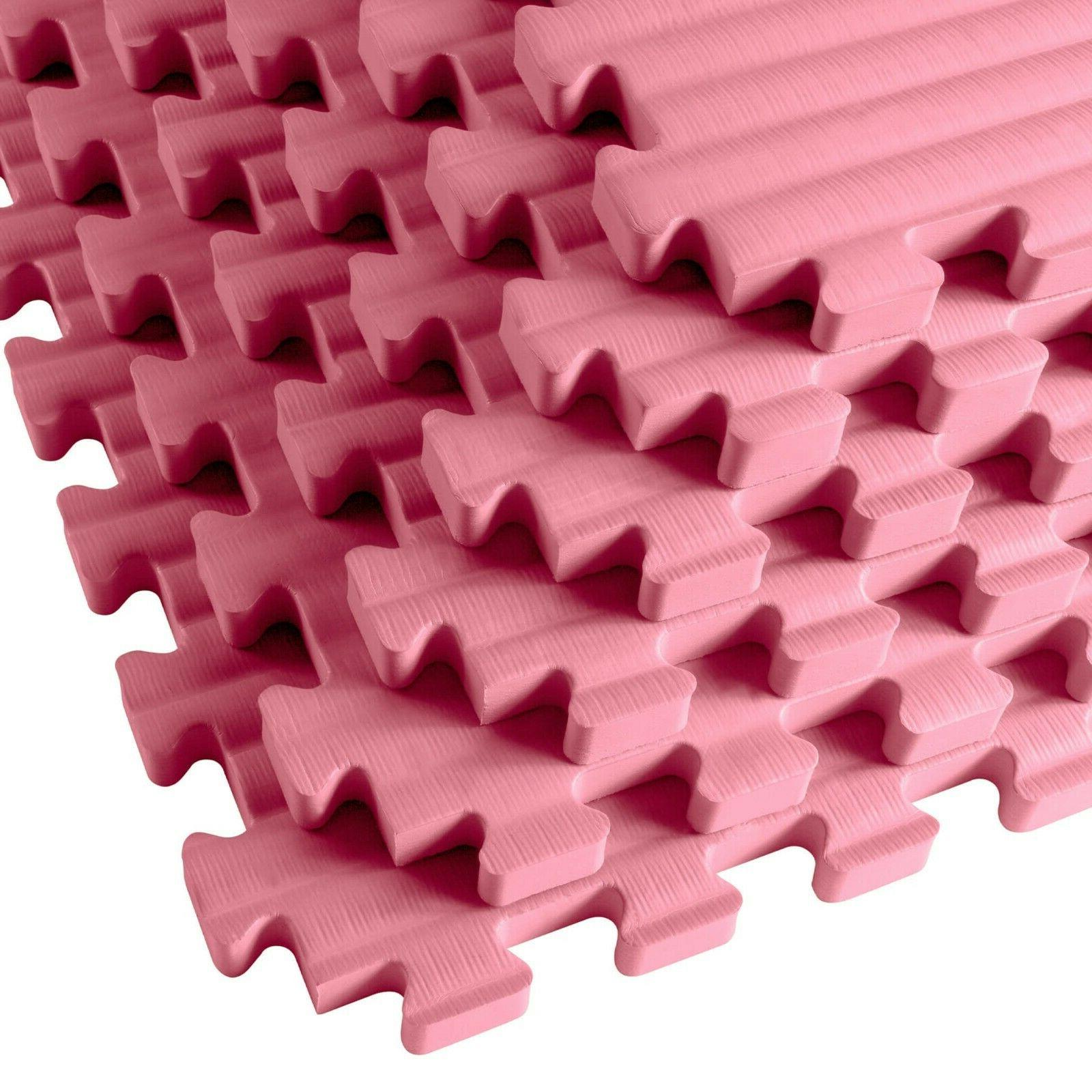 Tatami MMA Mats Gyms Pink pack, sq ft