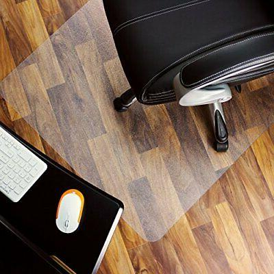 Marvelux Heavy Duty Polycarbonate Office Chair Mat for Hardw