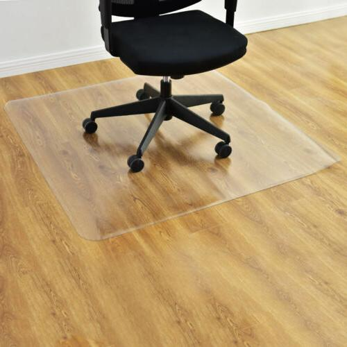 New 36 X 48 Pvc Chair Floor Mat Home Office Protector For Hard Wood Floors