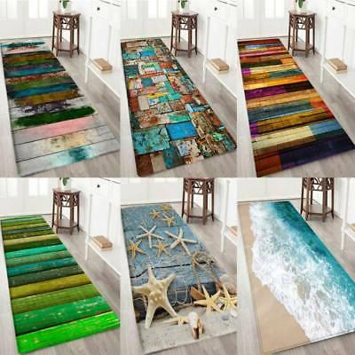 3D Print Thick Flannel Non-slip Door Mat Kitchen Floor Pads