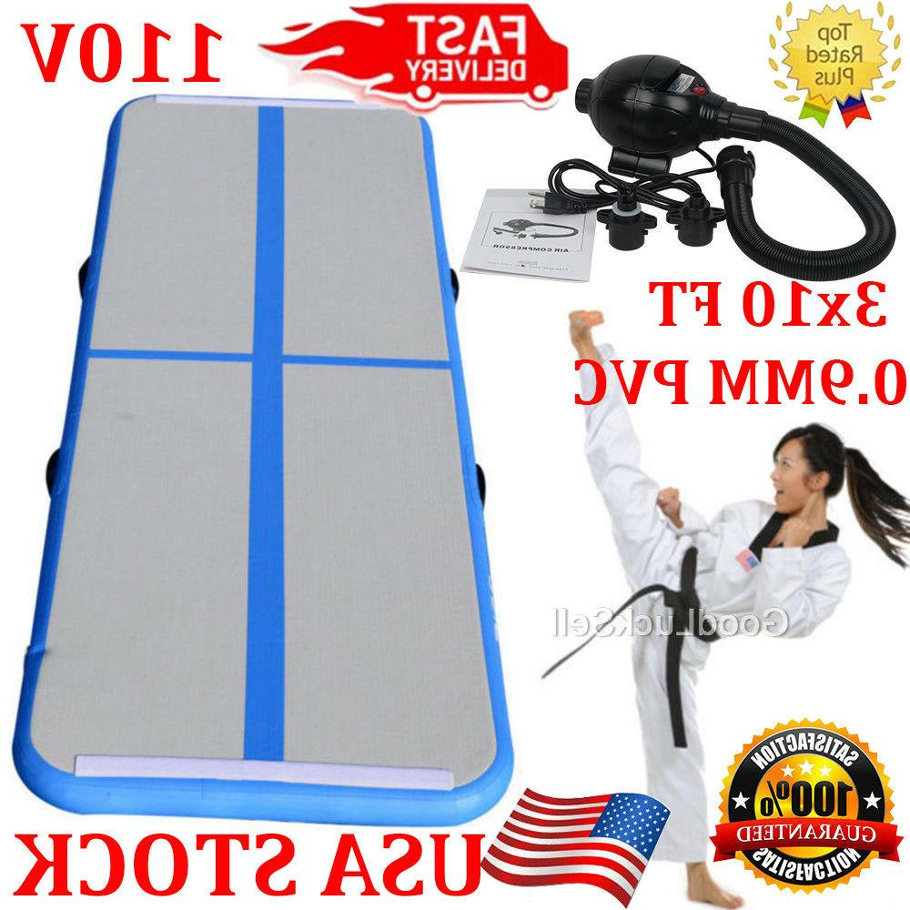 3x10ft air track tumbling airtrack inflatable floor