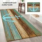 47'' Nautical Anchor Bathroom Bedroom Bath Mat Floor Rug Car