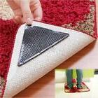 4x Mat Grips Non-Slip Rug Gripper Carpet Reusable Tape All F