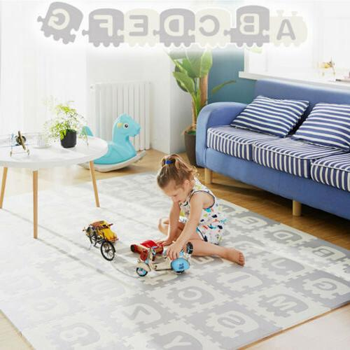 Extra Large Kids Puzzle Play Mat Baby Foam Playmat Interlock