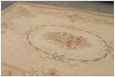 9x12 aubusson area rug antique french pastel