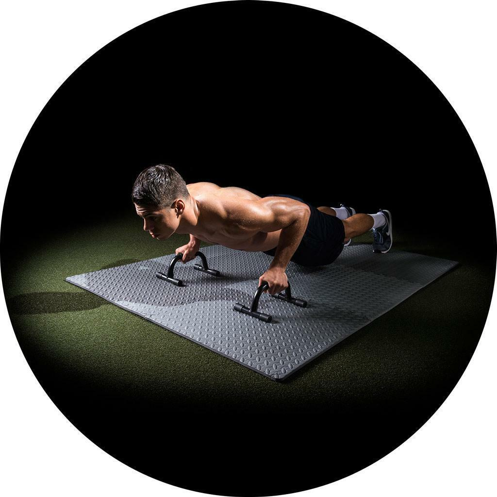 Exercise Mat Puzzle Gym 12 SF Workout Lifting