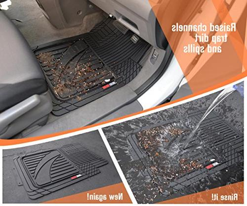 Motor Trend Performance 4pc HD Mats for Car All