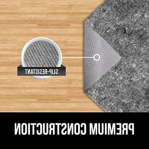 Gorilla + Gripper Thick, for Hard Support Under Rugs, Protects Floors