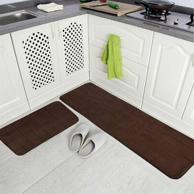 Non-slip Absorbent Soft Rug Memory Foam Bath Bathroom Bedroo