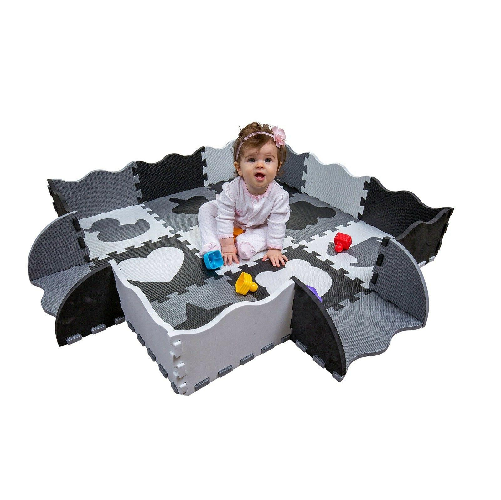 Activity mattress for babies Non Toxic Thick Foam Floor Play