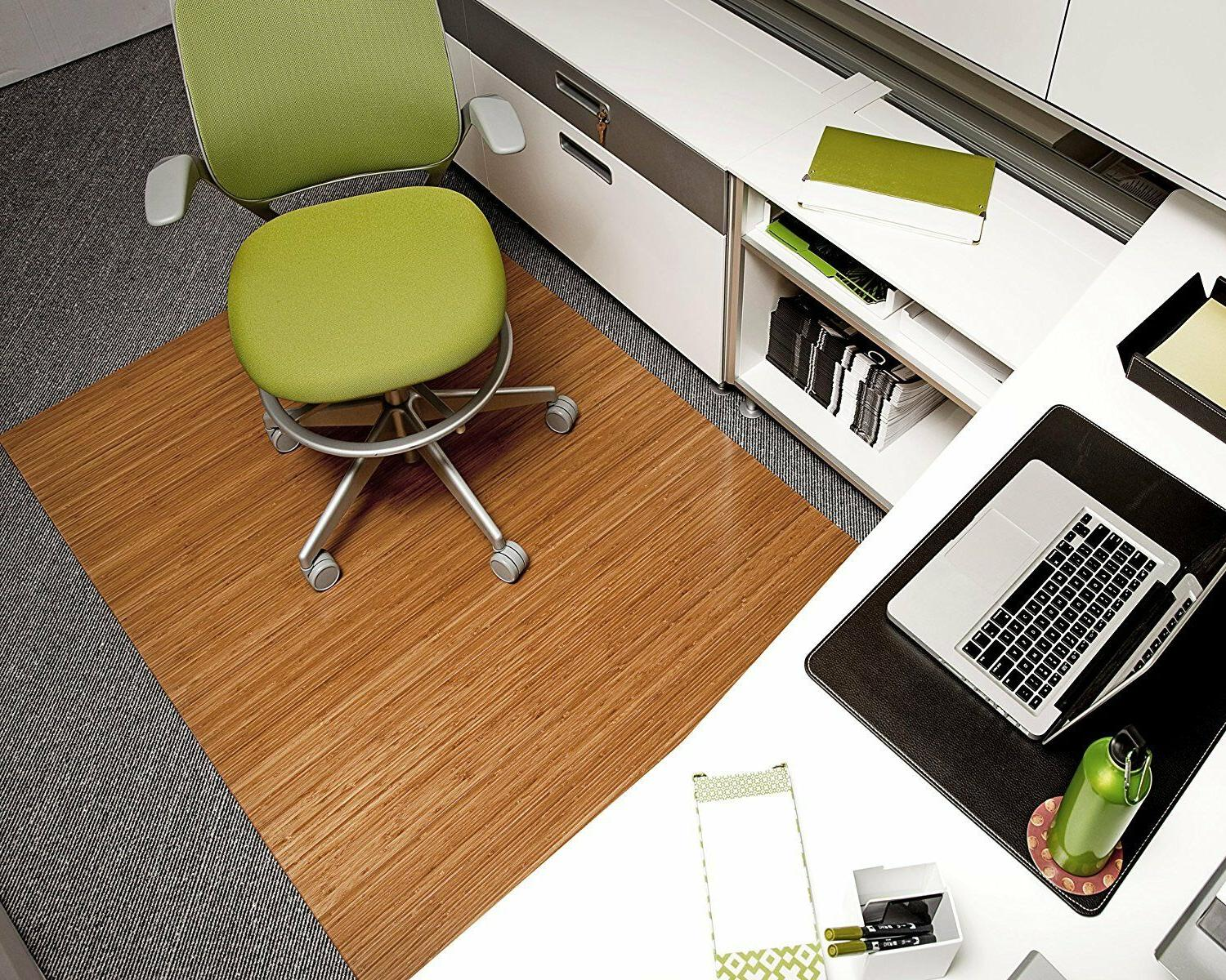 Anji Mountain Deluxe Fiber Chairmat without