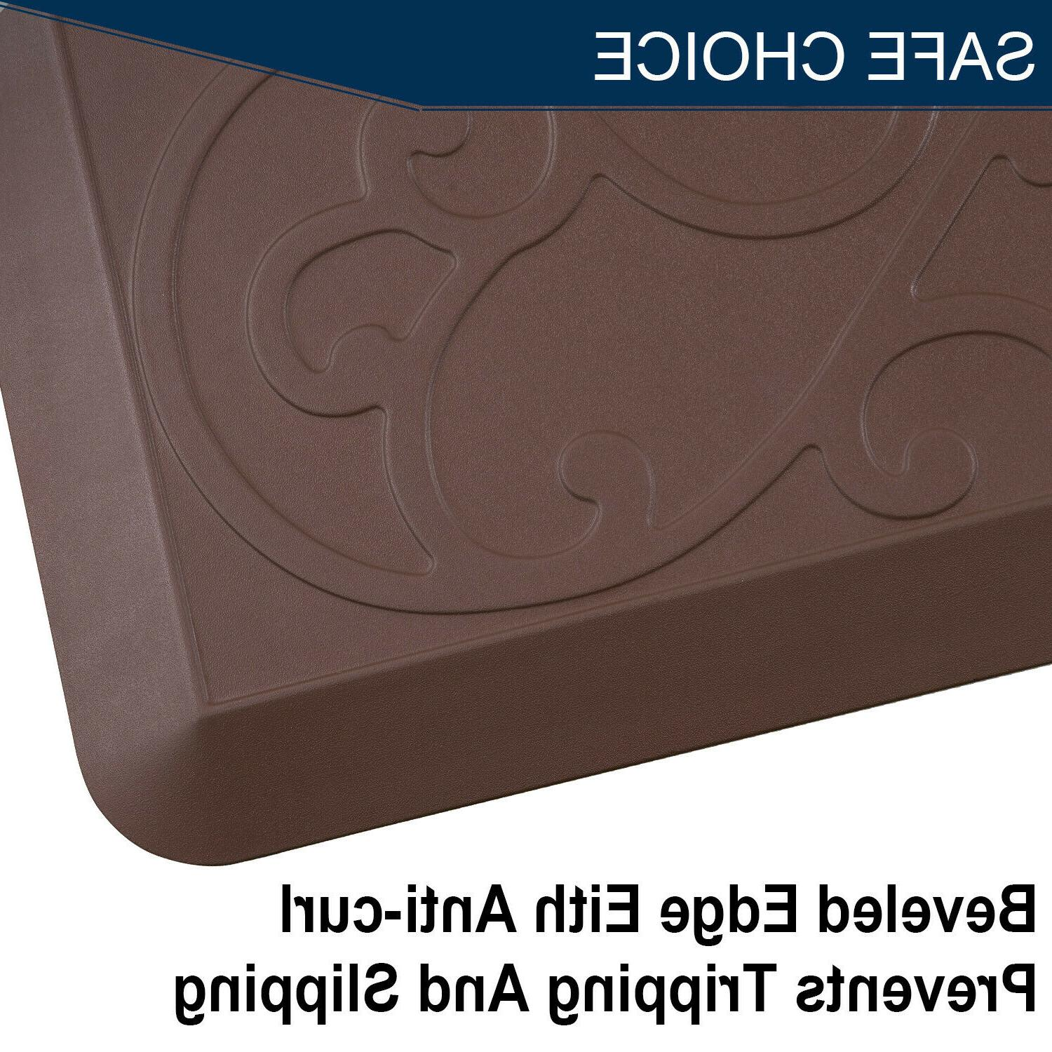 Anti Fatigue For Kitchen Desk Thick Cushioned Flooring