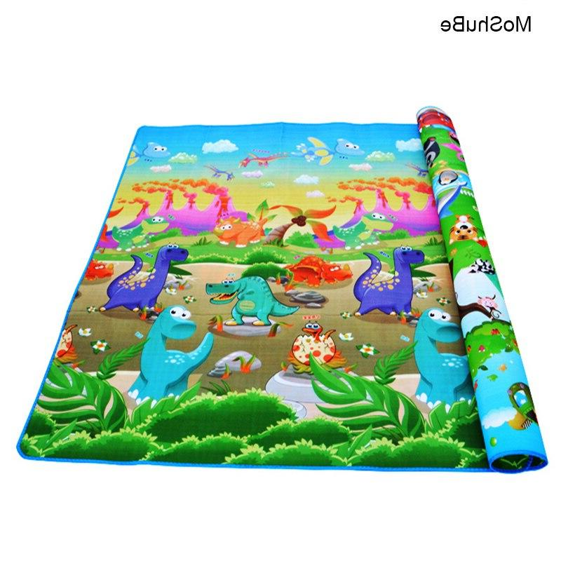 Baby Play <font><b>Mat</b></font> Developing Gym Games Play Baby Carpets For Children's <font><b>Floor</b></font>