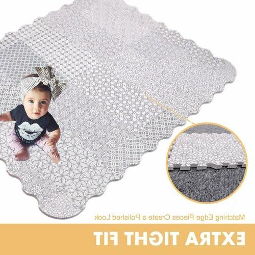 Baby Mat with Fence 5FT Puzzle Floor Kids