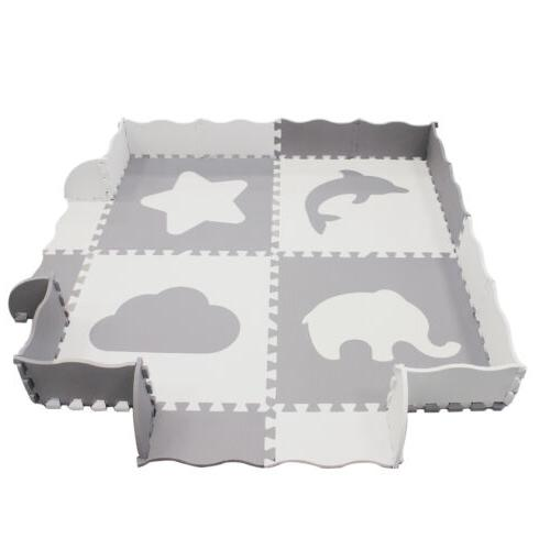Baby Mat Fence - Large , Foam for