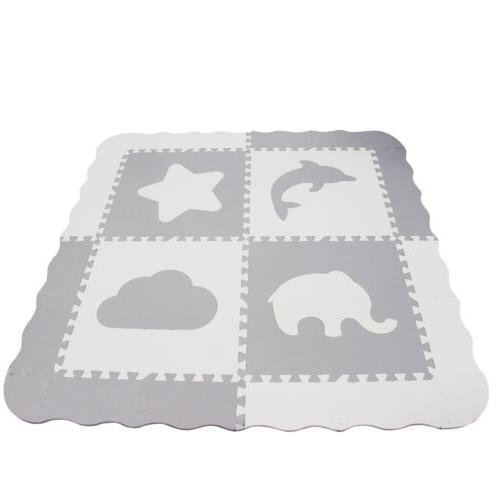 Baby Play Mat with Fence - for