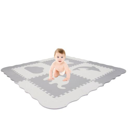 Baby Play with Fence - Foam Puzzle Floor for