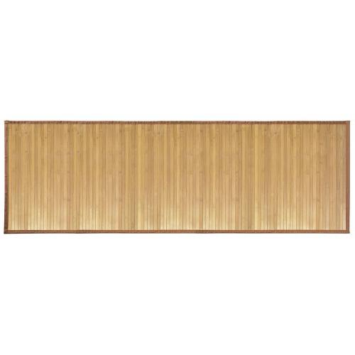 Bathroom Natural Bamboo Smooth Floor Mat Exotic Shower Bath