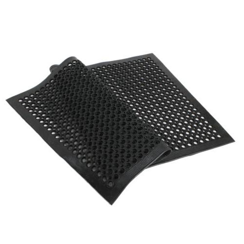 "Black Anti-Fatigue Floor Mat 36""*60"" Indoor Commercial Indus"