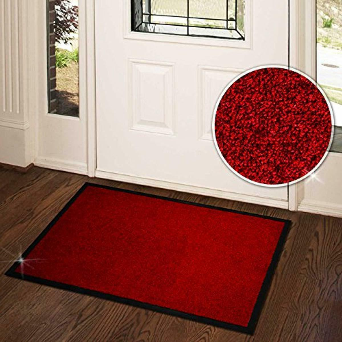 casa Mat | Front Door Home and Business | Red