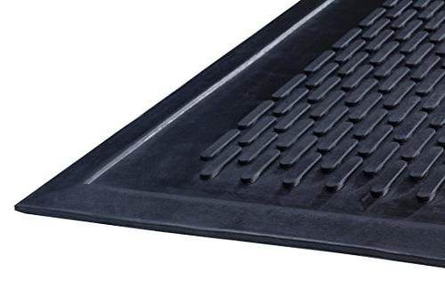 Guardian Scraper Outdoor Floor Rubber, Ideal for any outside Scrapes Clean of Dirt